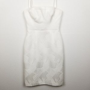 BCBGMAXAZRIA | strapless | lined | fitted